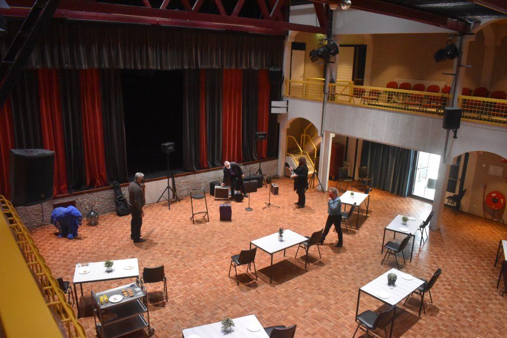 Coronaproof opstelling theaterzaal De Musketon