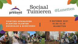 Present sociaal tuinieren Lunetten