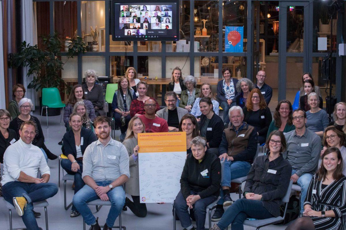 Ik doe mee Utrecht Omarmt Foto Eddy Steenvoorden.